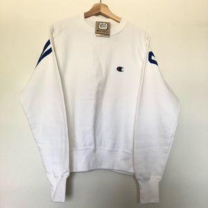 Champion white sweatshirt